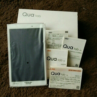 エルジーエレクトロニクス(LG Electronics)のqua tab px (LGT31) ピンク(タブレット)