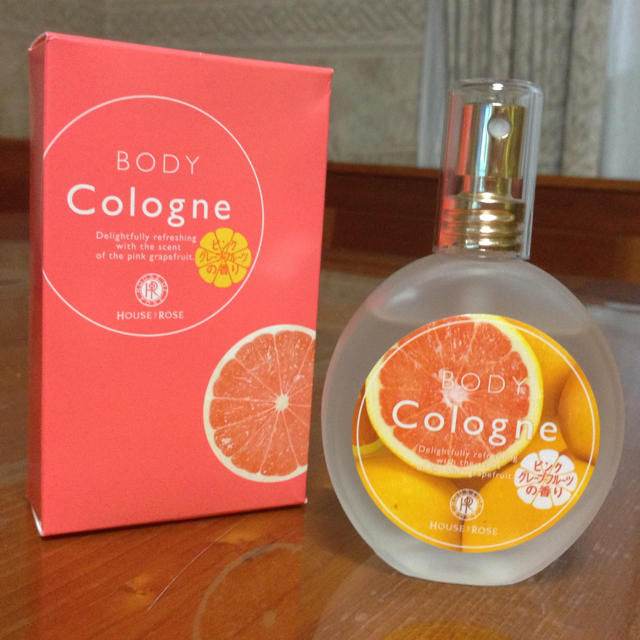 HOUSE OF ROSE(ハウスオブローゼ)のピンクグレープフルーツ♡コロン コスメ/美容の香水(香水(女性用))の商品写真