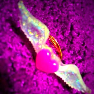 ハート 翼つきリング(リング(指輪))