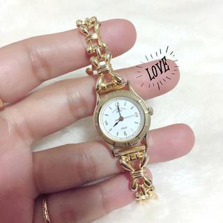 オリエント(ORIENT)の【ORIENT you】ゴールド×ホワイト腕時計(腕時計)