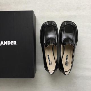 ジルサンダー(Jil Sander)のJILSANDER 厚底ローファー(ローファー/革靴)