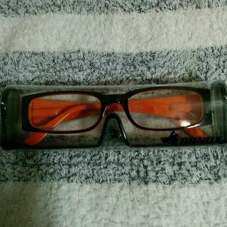 ダテ眼鏡 ケース着き(サングラス/メガネ)