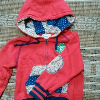 パーカー 100 キッズ/ベビー/マタニティのキッズ服 女の子用(90cm~)(ジャケット/上着)の商品写真