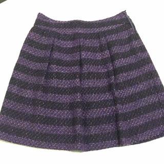 ストラ(Stola.)の♡stola♡フレアスカート ひざ丈 ツイード(ひざ丈スカート)