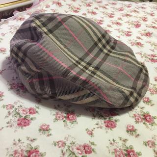 バーバリー(BURBERRY)のバーバリー ハンチング帽子(ハンチング/ベレー帽)