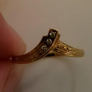 18金 ダイヤ 指輪(リング(指輪))