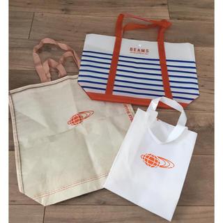 ビームス(BEAMS)の3点セット☆ビームス ショップ袋 ビニール(ショップ袋)