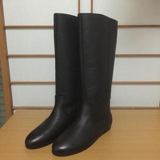 ベルメゾン(ベルメゾン)の売約済み ベネビスの革ブーツ 未使用(ブーツ)