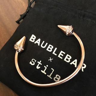 バウブルバー(BaubleBar)のbaublebar ピンクゴールドのバングル(ブレスレット/バングル)