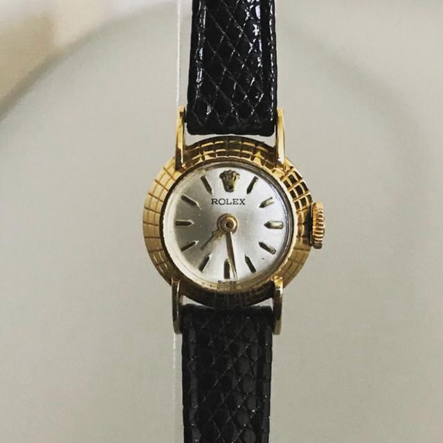 online store 7f34c d7af2 (JUN様専用)Rolex レディース ロレックス 18k ケース 時計 箱付 | フリマアプリ ラクマ