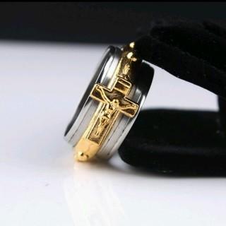 【送料無料】キリスト クロス リング (リング(指輪))