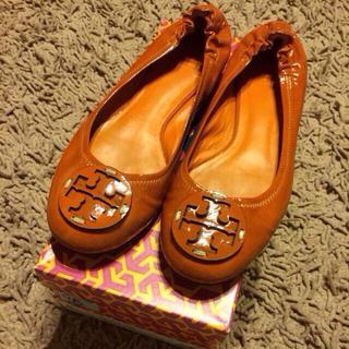 トリーバーチ(Tory Burch)のトリーバーチ♡フラットシューズ 25cm(ローファー/革靴)