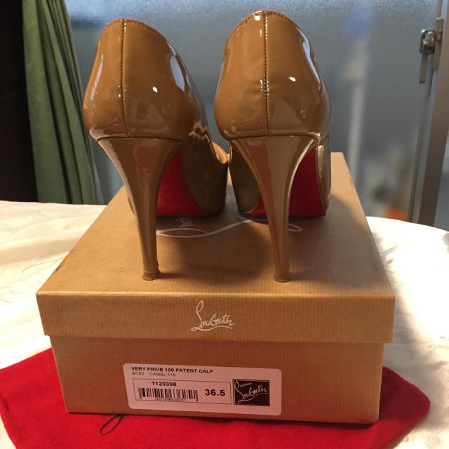 Christian Louboutin(クリスチャンルブタン)のクリスチャンルブタン オープントュー23.5cm レディースの靴/シューズ(ハイヒール/パンプス)の商品写真