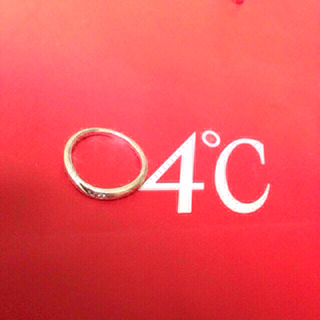 ヨンドシー(4℃)の4℃  指輪9号 (リング(指輪))
