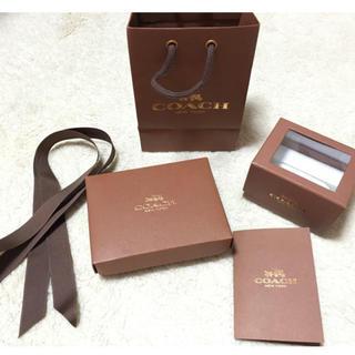 885f7c28462f 正規品コーチ ラッピングボックス&リボンセットプレゼントに! ¥600. コーチ(COACH)のcoach 袋 ラッピング 箱(ラッピング/包装)