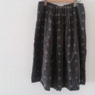 ミナペルホネン(mina perhonen)のミナ  スカート♡お値段交渉OK(ひざ丈スカート)
