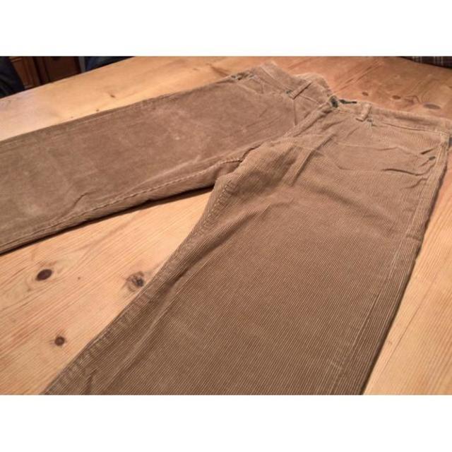 BANANA REPUBLIC ベージュ コーデュロイパンツ W32 メンズのパンツ(デニム/ジーンズ)の商品写真