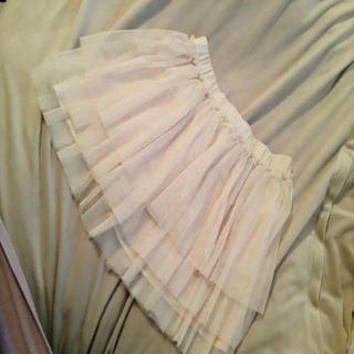 ローリーズファーム(LOWRYS FARM)のチュールキュロットスカート(ミニスカート)