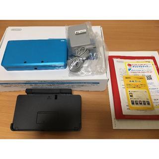 ニンテンドウ(任天堂)のニンテンドー3DS ライトブルー(携帯用ゲーム機本体)