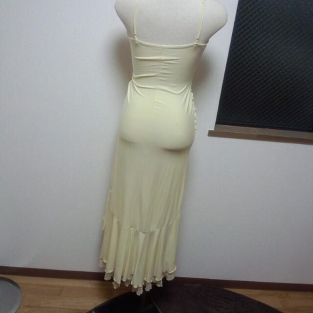 イエロー☆ドレス レディースのフォーマル/ドレス(その他ドレス)の商品写真
