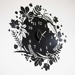 ウォールステッカー★掛け時計★クロック