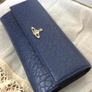 ヴィヴィアンウエストウッド(Vivienne Westwood)のviviennewestwood長財布新品/ブルー(財布)