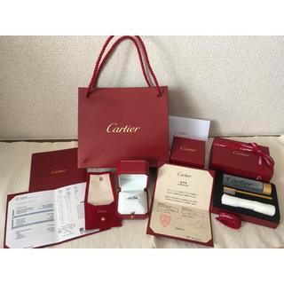 カルティエ(Cartier)のカルティエ ソリテール リング プラチナ ダイヤモンド 新品 一式有!(リング(指輪))