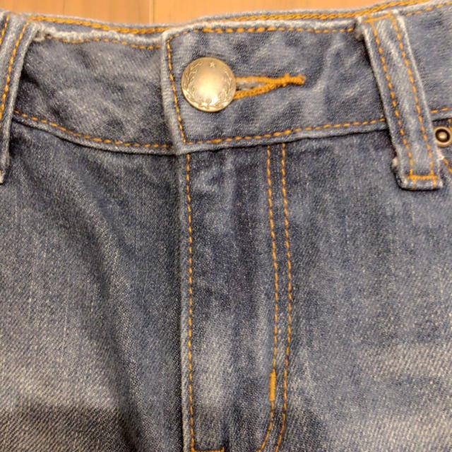 GU(ジーユー)のデニム レディースのパンツ(デニム/ジーンズ)の商品写真