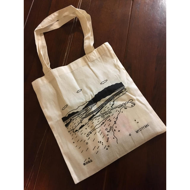 MUJI (無印良品)(ムジルシリョウヒン)の無印良品エコバッグ京都限定 レディースのバッグ(エコバッグ)の商品写真