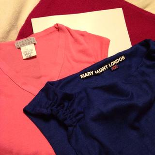バーニーズニューヨーク(BARNEYS NEW YORK)のバーニーズニューヨークとマリークワント(Tシャツ(半袖/袖なし))