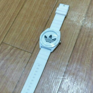 アディダス(adidas)のアディダスラバーベルト!!(腕時計)