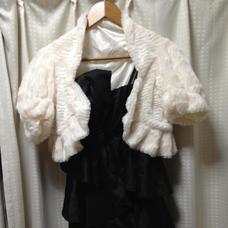 ユメテンボウ(夢展望)のドレス用モコモコショール(マフラー/ショール)