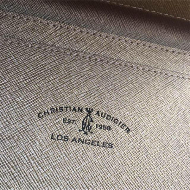 DIESEL(ディーゼル)のクリスチャンオードジェー 金運 長財布 フェイク レザー ゴールド メンズのファッション小物(長財布)の商品写真