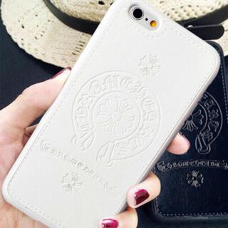 クロムハーツ(Chrome Hearts)の【ホワイト】iPhone7用ケース ☆ChromeHearts好きにクロム(iPhoneケース)
