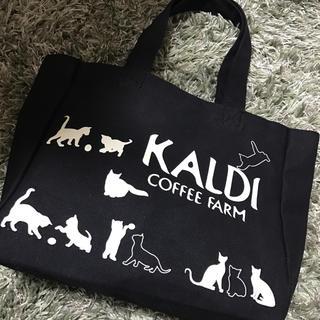カルディ(KALDI)のKALDI ネコの日バッグ ネコバッグ (トートバッグ)