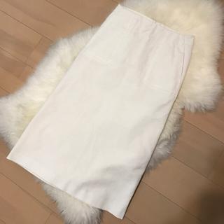 ジルサンダー(Jil Sander)のJIL SANDER コーデュロイスリットスカート(ロングスカート)