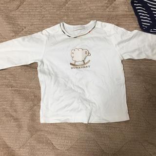 バーバリー(BURBERRY)のバーバリーの80センチ長Tシャツ(Tシャツ)