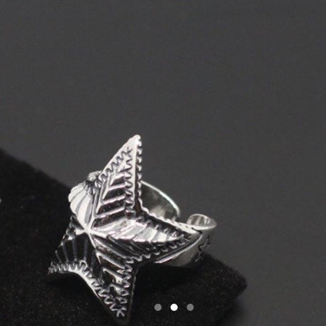 シルバー925、ラージスターリング デップスターリング、スターリング メンズのアクセサリー(リング(指輪))の商品写真