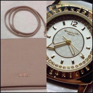 スナイデル(snidel)のバッグ×時計。(セット/コーデ)