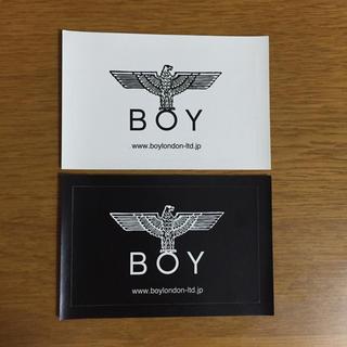 ボーイロンドン(Boy London)のBoy London ステッカー 二枚セット(その他)