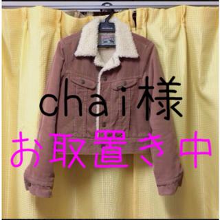 フーズフーチコ(who's who Chico)の(再出品)LEE×chico ジャケット(ノーカラージャケット)