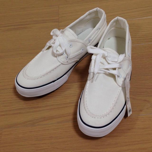 GU(ジーユー)のマリンデッキシューズ☆GU レディースの靴/シューズ(スニーカー)の商品写真