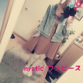 ミスティック(mystic)のmystic ワンピース(ひざ丈ワンピース)