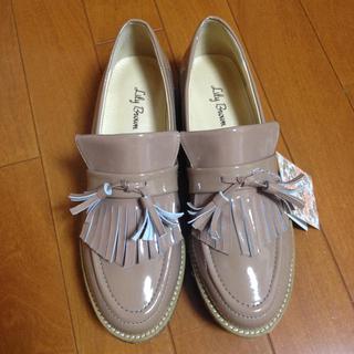 リリーブラウン(Lily Brown)のエナメルラバーシューズ(レインブーツ/長靴)