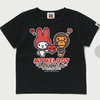 アベイシングエイプ(A BATHING APE)の新品ABATHINGAPE マイメロ コラボTシャツ(Tシャツ/カットソー)