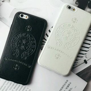 クロムハーツ(Chrome Hearts)の【ブラック】iPhone6/6s スマホケース  最新クロムハーツデザイン(iPhoneケース)