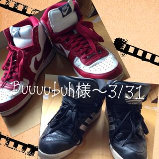 アディダス(adidas)のBuuuubuh様3/31までおとりおき(スニーカー)