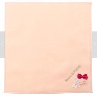 メゾンドフルール(Maison de FLEUR)のメゾンドフルール♡タオルハンカチ ピンク(その他)