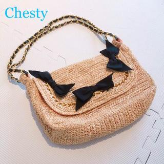 チェスティ(Chesty)の【春先取り♡】Chesty カゴチェーンバッグ(ショルダーバッグ)