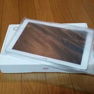 エルジーエレクトロニクス(LG Electronics)の【新品】Qua Tab PZ LGT32 ホワイト(タブレット)